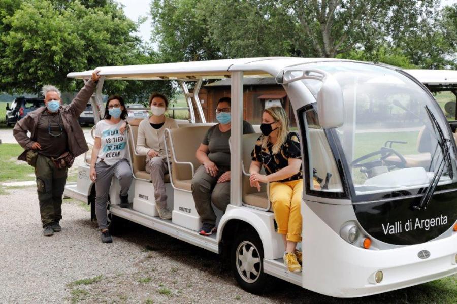 Escursione in Eco-Shuttle...