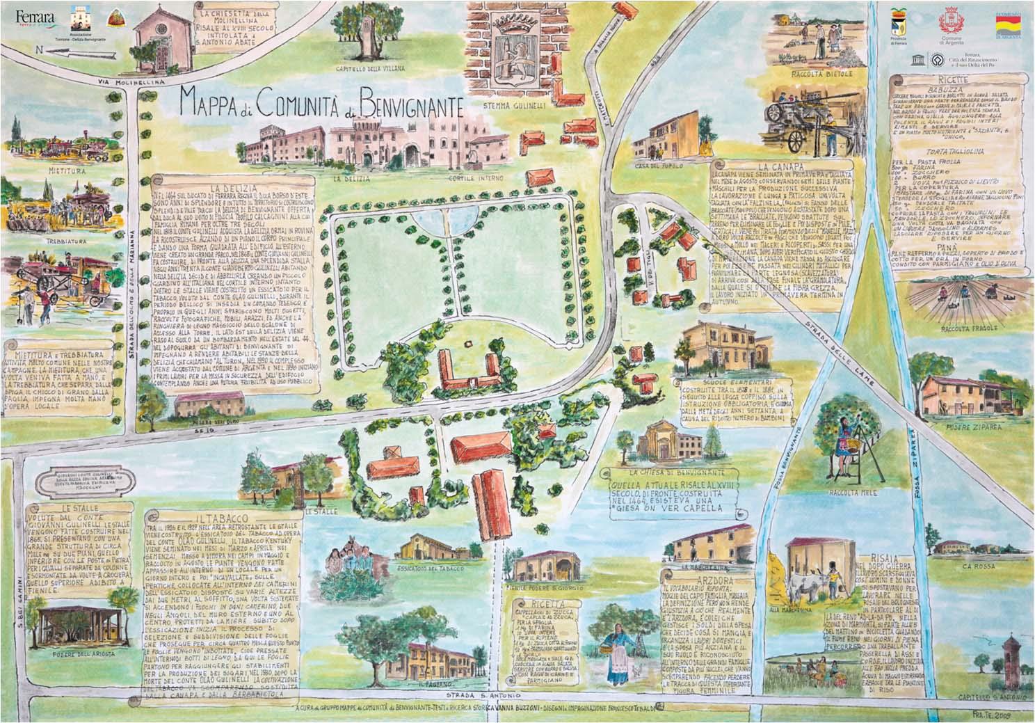 mappe di comunita - Benvignante