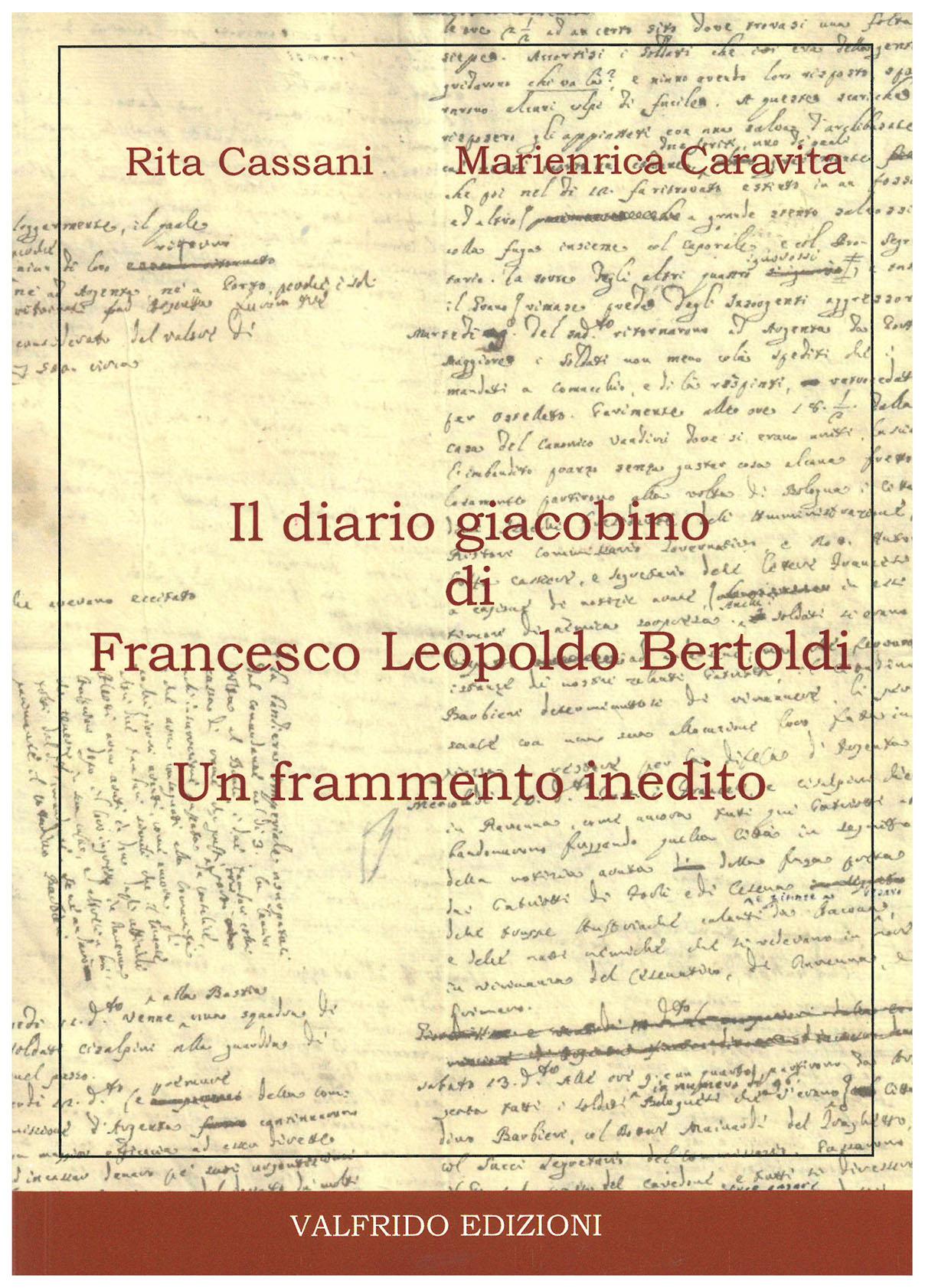Il diario giacobino di Francesco Leopoldo Bertoldi. Un frammento inedito